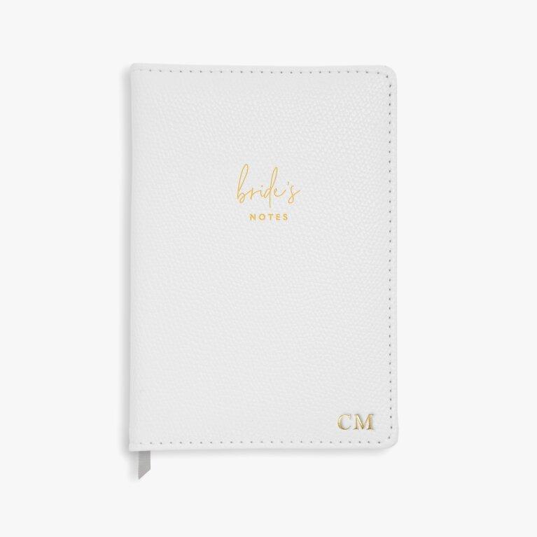 A5 Notebook Brides Notes