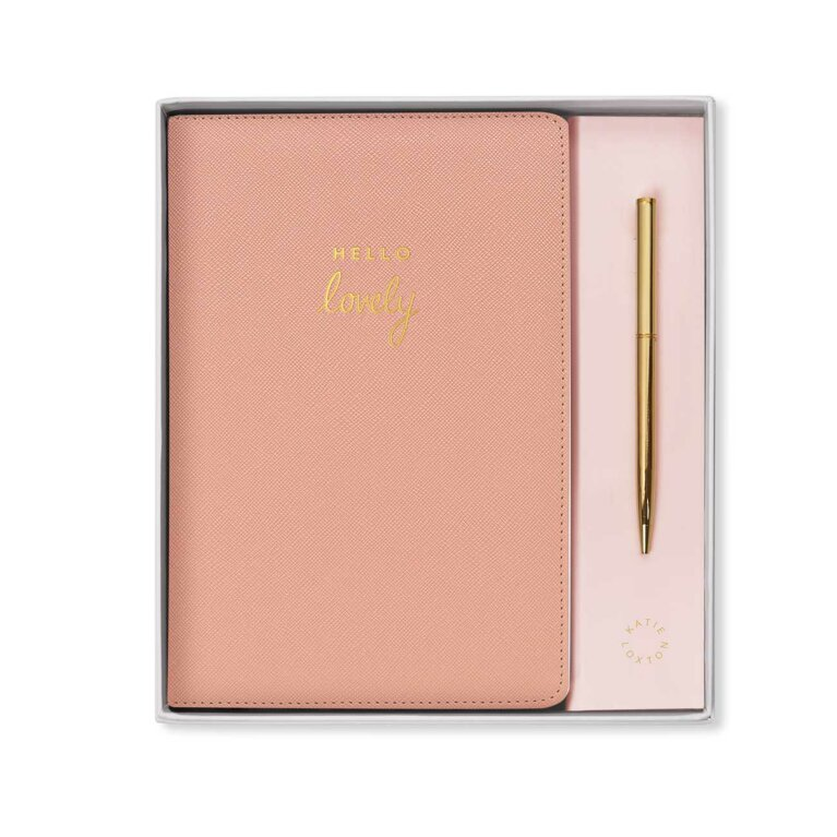 A5 Notebook and Pen Set | Hello Lovely