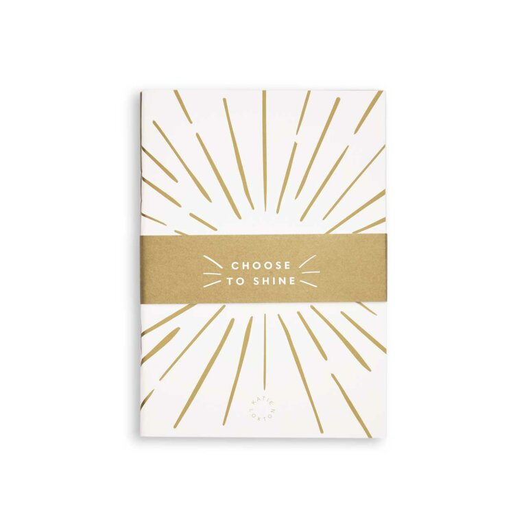Duo Pack Notebooks | White and Gold