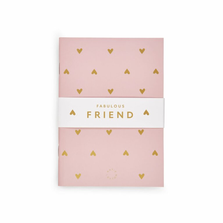 Duo Pack Notebooks | Fabulous Friend | Pink and White