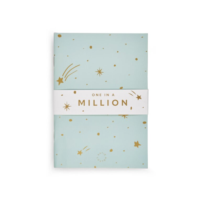 Duo Pack Notebooks One In A Million In  Blue And White