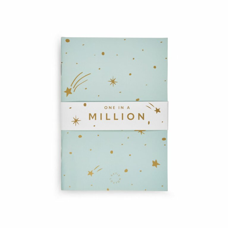 Duo Pack Notebooks | One in a Million | Blue and White