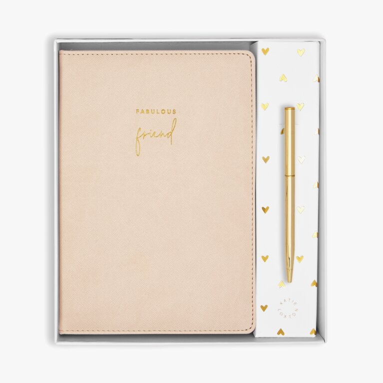 Beautifully Boxed A5 Notebook and Pen Set | Fabulous Friend
