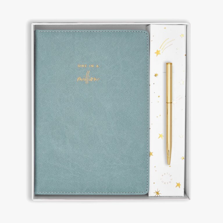 Beautifully Boxed A5 Notebook and Pen Set | One In A Million