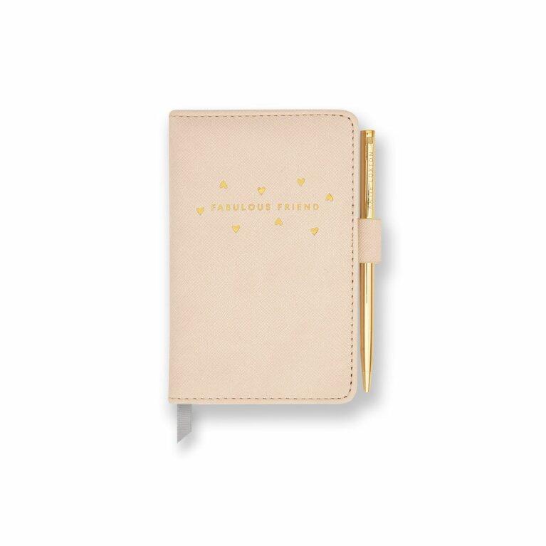 Mini Notebook and Pen Set | Fabulous Friend | Nude