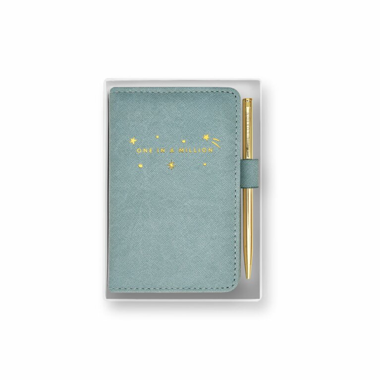 Mini Notebook and Pen Set | One In A Million | Blue