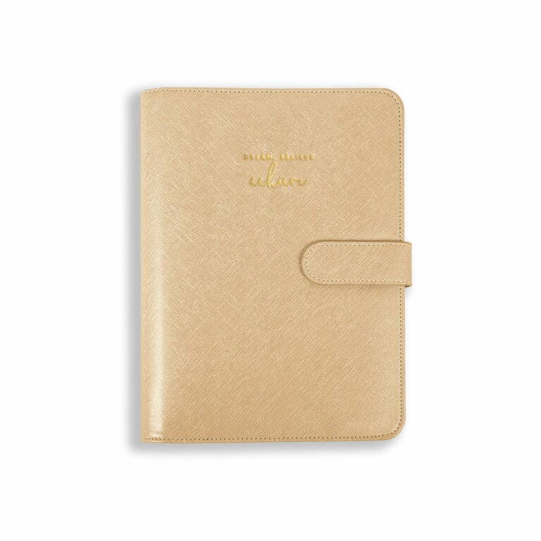 Planner | Dream Believe Achieve | Gold
