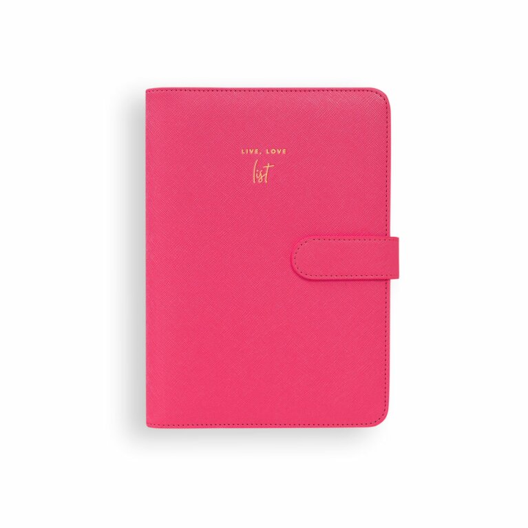 Planner | Live Love List | Fuchsia