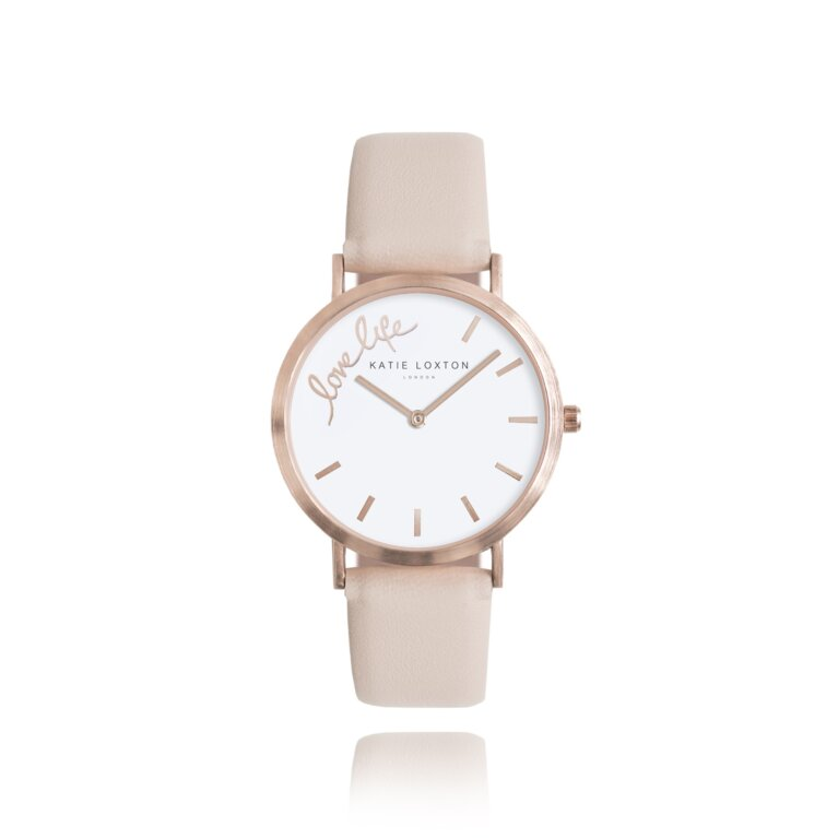 Magical Moments Watch   Love Life   Blush Pink