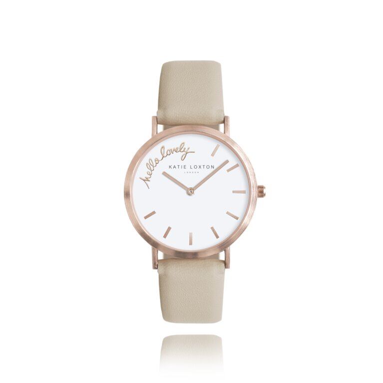 Magical Moments Watch   Hello Lovely   Taupe