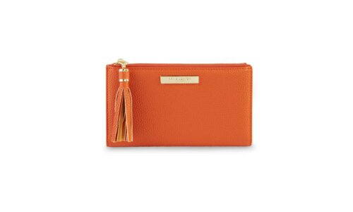 Sophia Tassel Fold Out Wallet | Burnt Orange