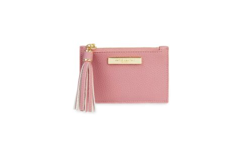 Tassel Card Holder | Pink