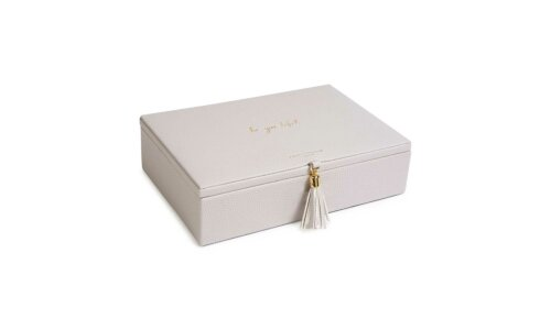 Tassel Jewelry Box | Be-You-Tiful | gray