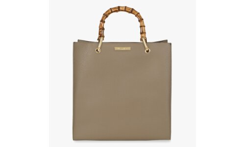Amelie Bamboo Bag | Taupe
