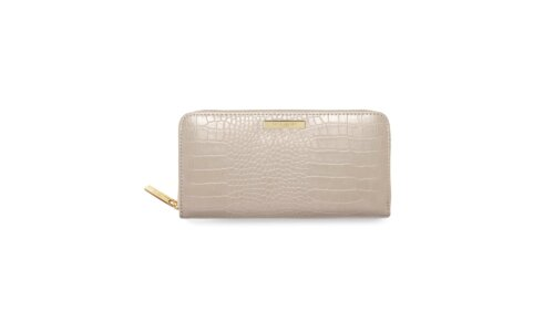 Celine Faux Large Croc Purse | Oyster