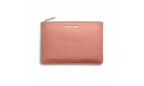 Soft Pebble Pouch | Salmon Pink