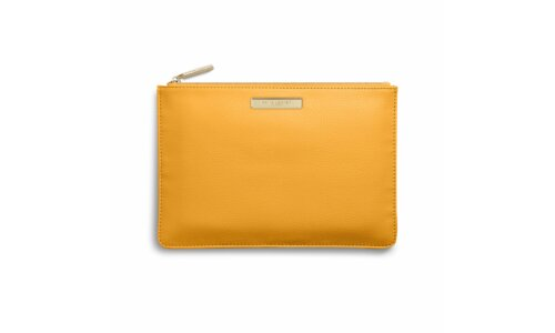 Soft Pebble Pouch | Ochre