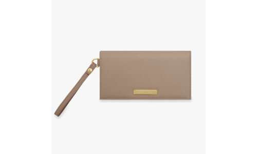 Cleo Wristlet | Taupe