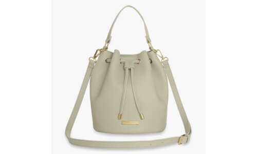 Chloe Bucket Bag | Warm Grey
