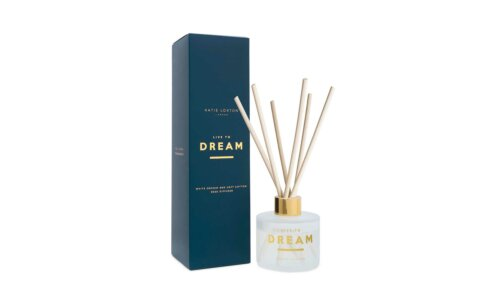 Sentiment Reed Diffuser | Live To Dream | White Orchid and Soft Cotton