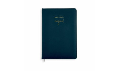 PU Notebook | Make Today Magical | Navy