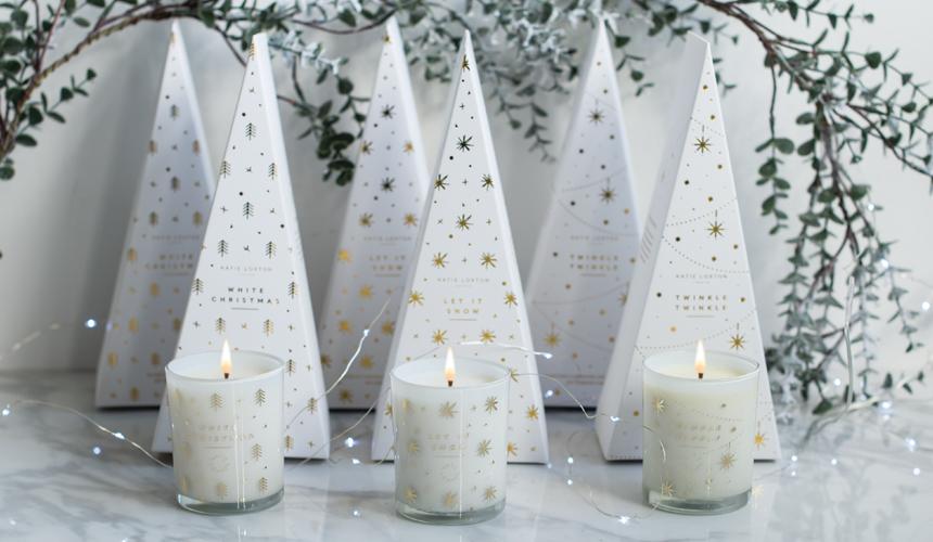 Christams Tree Box Candle