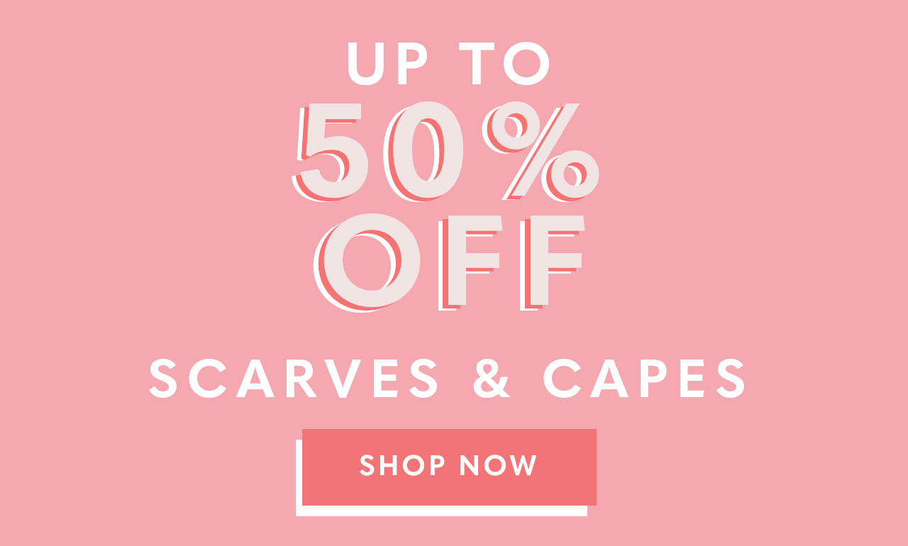 Scarves & Capes Sale
