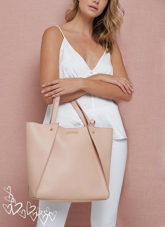 Pink Lucie tote bag
