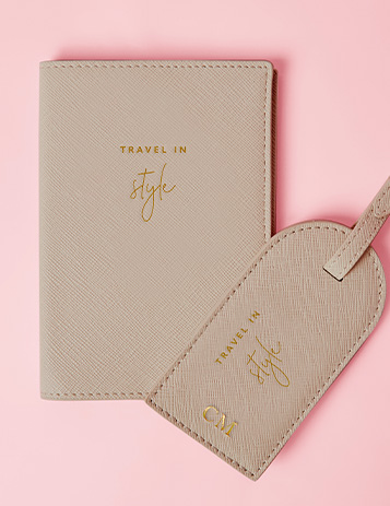 Personalised Travel Accessories