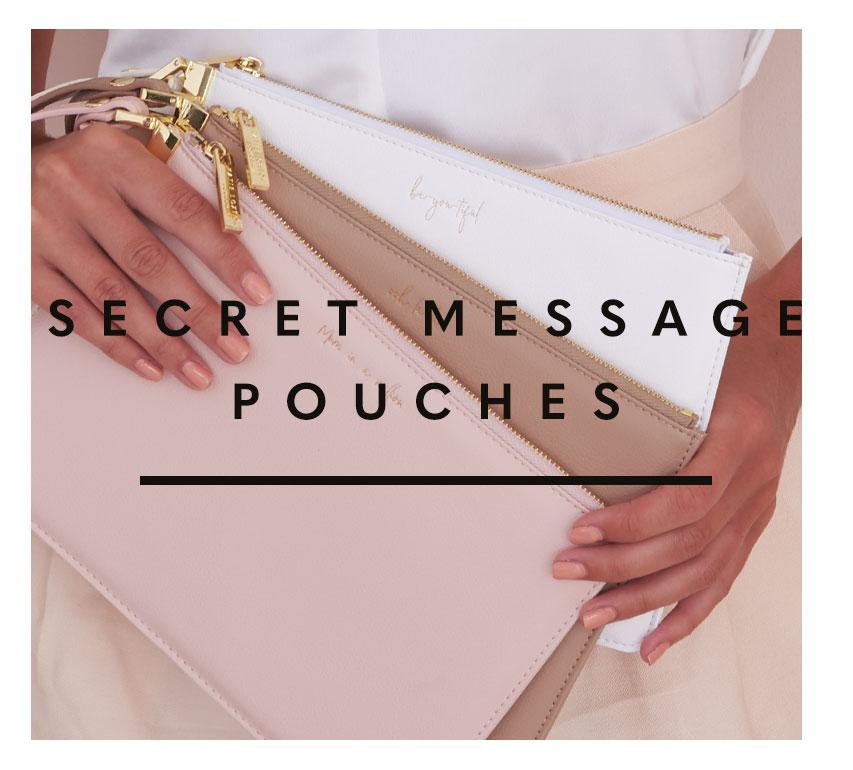 Secret Message Pouches