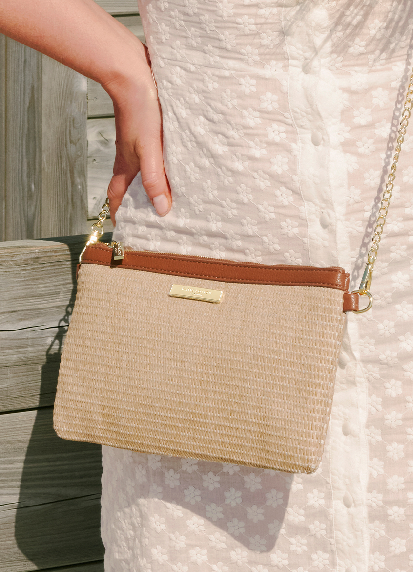 New In Straw Bags