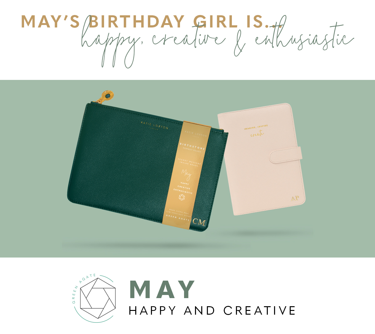 May Birthstone Perfect Pouch