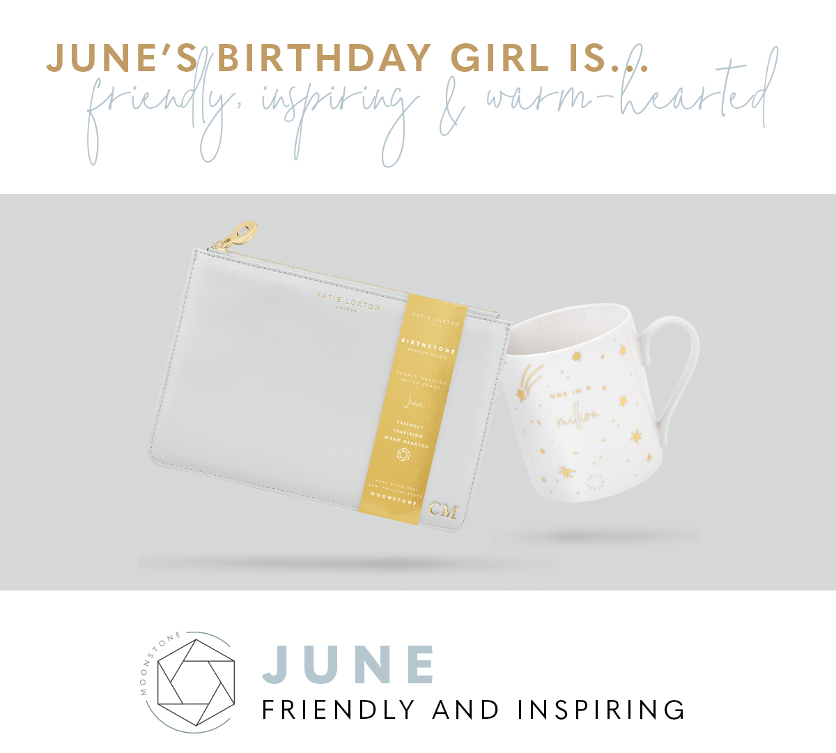 June Birthstone Perfect Pouch